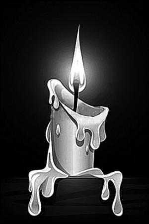 Свеча 3- Гравировка свечи на памятнике, производство и доставка по РФ