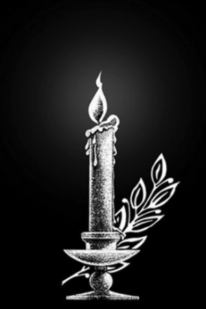 Свеча 8- Гравировка свечи на памятнике, производство и доставка по РФ