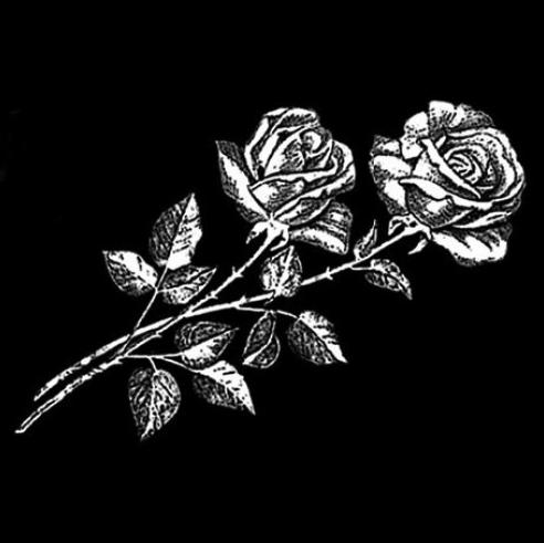 Цветок 4 - Гравировка цветка на памятнике, производство и доставка по РФ