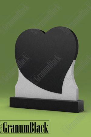 Памятник С-1 с сердцем