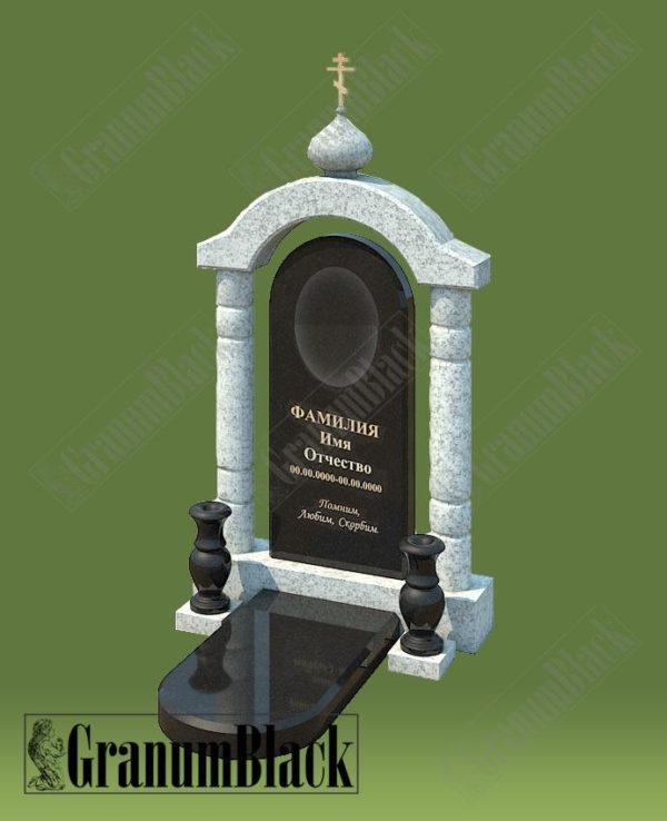 Памятник премиум с аркой 21