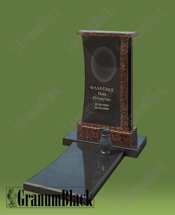 Памятник премиум с аркой 5