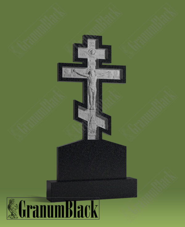 Памятник с крестом 16