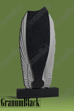 Памятник с крыльями