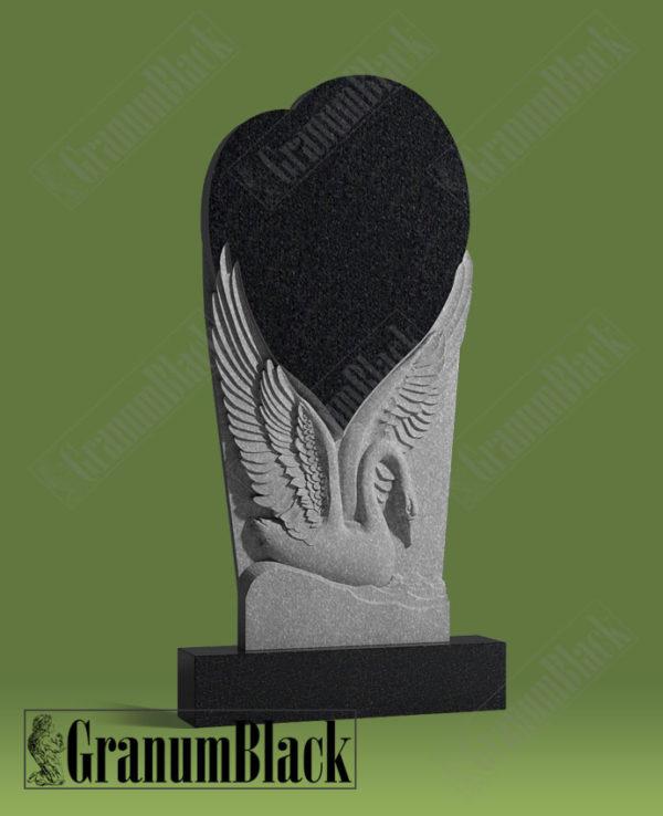 Памятник л-2 с лебедем